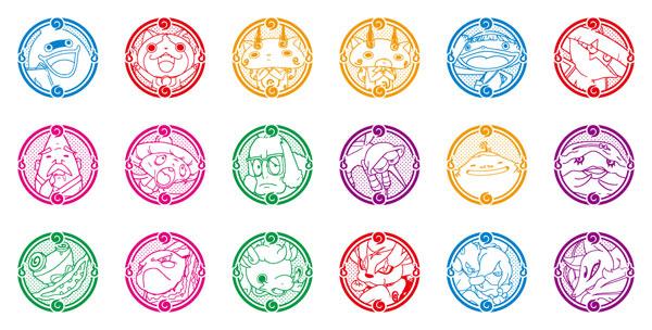 amiami character hobby shop youkai watch youkai stamp 18pack box