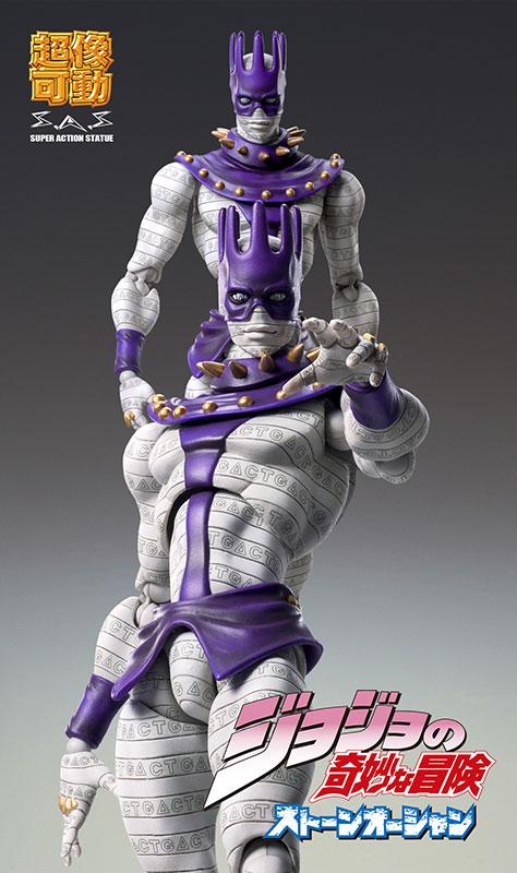 Amiami Character Hobby Shop Super Action Statue Jojo S Bizarre Adventure Part Vi 78 White Snake Hirohiko Araki Specified Color Released
